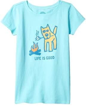 Life is Good Marshmallow Roast Tee (Little Kids/Big Kids)