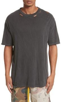 Drifter Men's Cobain Distressed Oversize T-Shirt