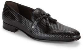 Mezlan Leather Tassel Loafers