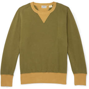 Levi's 1930s Bay Meadows Garment-Dyed Cotton-Jersey Sweatshirt