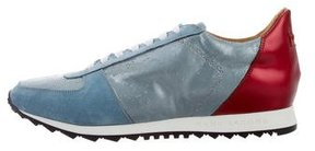Marc Jacobs Paneled Low-Top Sneakers w/ Tags