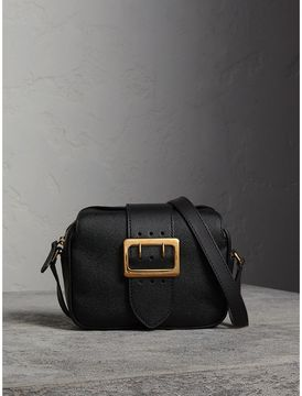 Burberry The Small Buckle Crossbody Bag in Leather