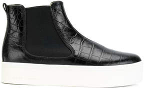 Marc Jacobs crocodile-effect chelsea boots