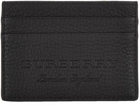Burberry Matte Leather Card Holder