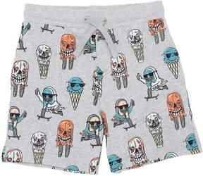 Stella McCartney Monster Ice Cream Cotton Sweat Shorts