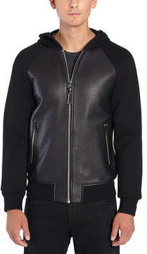 Mackage Gibb Leather Bomber Jacket (Men's)