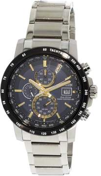 Citizen Men's AT8124-83M Silver Stainless-Steel Japanese Chronograph Fashion Watch
