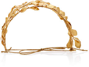 Jennifer Behr Sabrina Circlet Gold-Plated Headband
