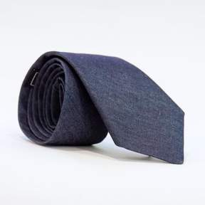 Blade + Blue Solid Blue Denim Tie