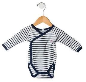 Petit Bateau Girls' Striped Bodysuit