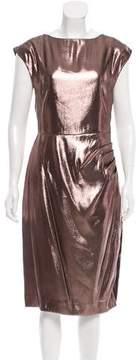 Fleur Du Mal Metallic Silk Dress w/ Tags