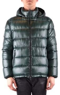 Herno Men's Green Polyamide Down Jacket.