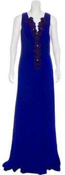 Carolina Herrera Sleeveless Evening Dress