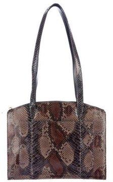 Gucci Python Shoulder Bag - BROWN - STYLE