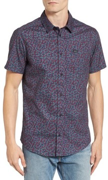 RVCA Men's Brong Short Sleeve Shirt