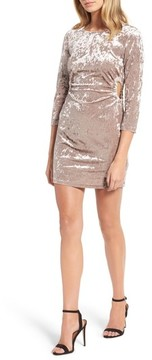 Everly Women's Cutout Velvet Dress