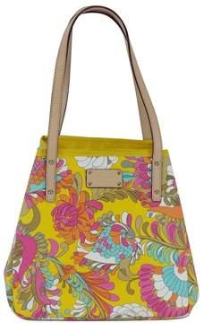 Kate Spade Floral Print Leather Tote Bag