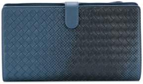 Bottega Veneta gradient spotted clutch bag