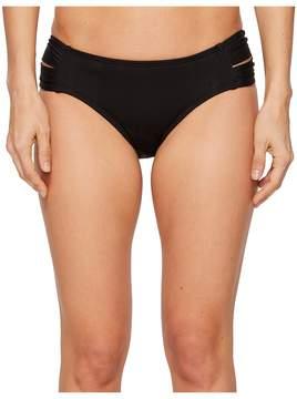 Athena Fine Line Double Side Tab Hipster Bikini Bottom Women's Swimwear