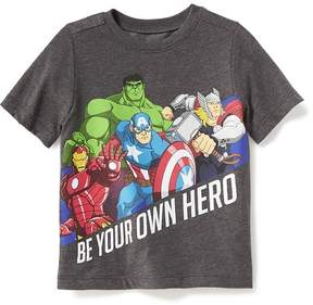 Old Navy Marvel Comics Be Your Own Hero Tee for Toddler Boys