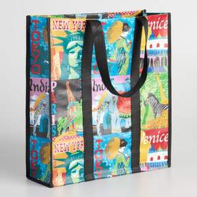 World Market Travel Tote Bag