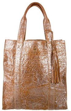 Figue Metallic Leather Bag