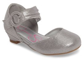 Jessica Simpson Toddler Girl's Tiana Shimmery Pump