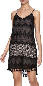 Eight Sixty Black Lace Dress