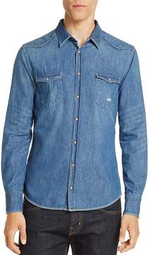 BOSS ORANGE Slim Fit Western Denim Shirt