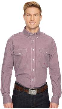 Roper 1256 Mini Checks - Wine Men's Clothing
