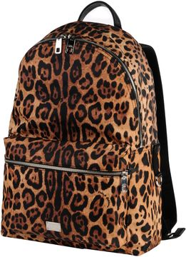 Dolce & Gabbana Backpacks & Fanny packs - DARK BROWN - STYLE