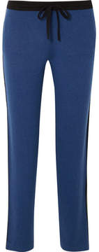 Allude Cashmere Track Pants - Blue