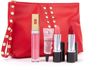 Elizabeth Arden 4-piece Lip Kit with Travel Pouch
