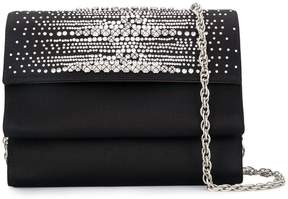 Rodo crystal embellished clutch bag