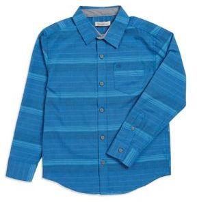 Calvin Klein Jeans Boy's Striped Button-Down Shirt