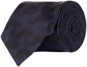 Pal Zileri Geometric Diamond Print Tie