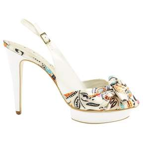 BCBGMAXAZRIA Cloth heels