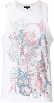 Comme des Garcons toy print perforated vest