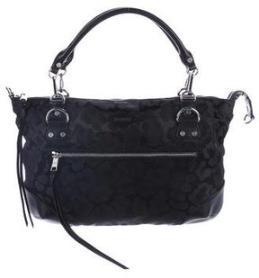 MZ Wallace Madison Leather-Trimmed Bag
