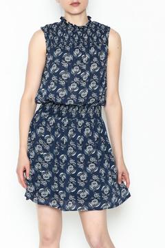 Everly Smocked Frond Dress