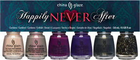 China Glaze Happily Never After 6 Pc Micro Mini Kit