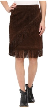 Scully Tracy Suede Skirt