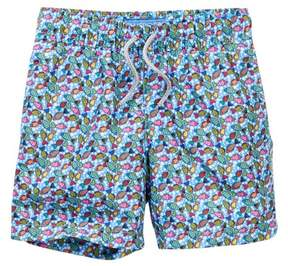 Trunks Blueport by Le Club Candy Fish Swim Trunk (Toddler, Little Boys, & Big Boys)