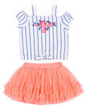 Little Lass 2-pc. Skirt Set Toddler Girls