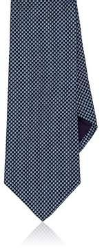 Ralph Lauren Purple Label Men's Neat-Print Mulberry Silk Necktie