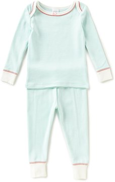 Starting Out Little Girls 2T-4T Striped Top & Pants Pajama Set