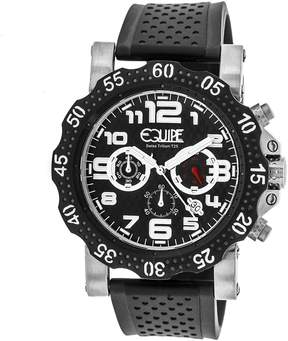 Equipe Tritium Rivet Chronograph Black Dial Men's Watch