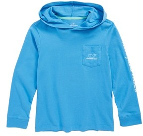 Vineyard Vines Toddler Boy's Two-Tone Whale Hooded T-Shirt