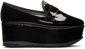 Repetto Black Patent Leather Dary Loafers