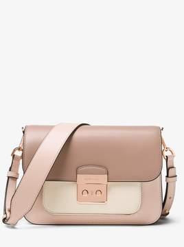 MICHAEL Michael Kors Sloan Editor Color-Block Leather Shoulder Bag